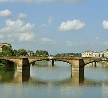 Puente Sta Trinidad. Florencia. 1537 - 1570 by cieloverde