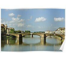 Puente Sta Trinidad. Florencia. 1537 - 1570 Poster