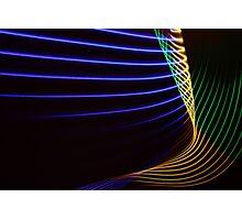Light Painting - Neon Photographic Print