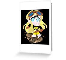 Teen Titans || Terra Greeting Card