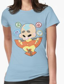 Avatar the Last Airbender || Aang Womens Fitted T-Shirt