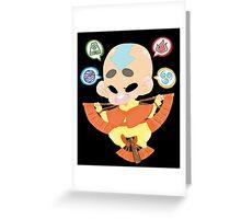 Avatar the Last Airbender || Aang Greeting Card