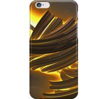 Tortured Boundries Fractal Render iPhone Case/Skin