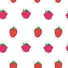 Strawberries & Raspberries by OneAlice