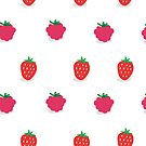 Strawberries & Raspberries by Alice Bouchardon