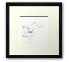 Lazy Fairy Framed Print