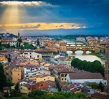 Firenze Sunset by Inge Johnsson
