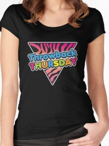 Throwback Thursday Women's Fitted Scoop T-Shirt