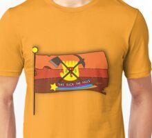 Gravity Falls: Take Back The Falls - Gold Unisex T-Shirt