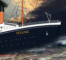 RMS Titanic by Dennis Melling