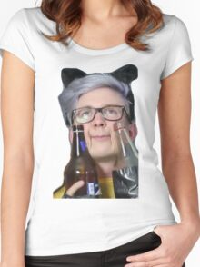 intoxicated tyler Women's Fitted Scoop T-Shirt