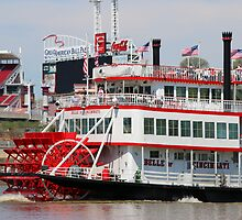 Paddle Wheel - Belle of Cincinnati 2014 by Tony Wilder