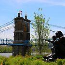 Waiting - Cincincinnati Ohio 2014 by Tony Wilder