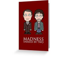 Hannibal and Will (card) Greeting Card