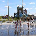 Water Park II - Cincinnati Ohio by Tony Wilder