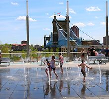 Water Park II - Cincinnati Ohio by Tony Wilder