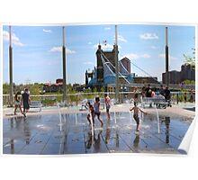 Water Park II - Cincinnati Ohio Poster