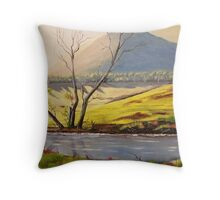 Lovely Banks Throw Pillow