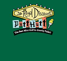 Gravity Falls Mini Golf - Turf Green Unisex T-Shirt