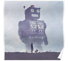 BEWARE THE GIANT ROBOTS! Poster