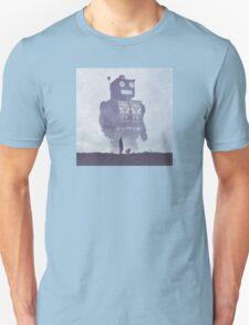 BEWARE THE GIANT ROBOTS! Unisex T-Shirt