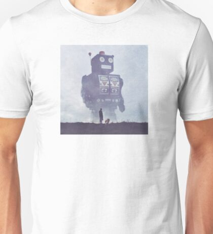 BEWARE THE GIANT ROBOTS! Unisex T-Shirt
