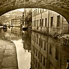 Rochdale Canal, Hebden Bridge by Stephen Knowles