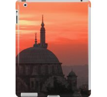 Sunset and Mosque, Istanbul iPad Case/Skin