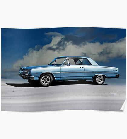 1965 Chevelle Malibu SS327 Poster