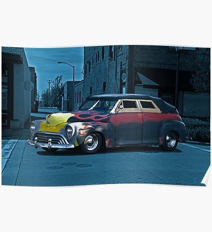 1947 Ford Rat 'After Midnight' Rod Poster