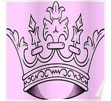Pink Crown   Poster