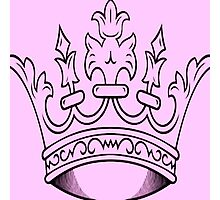 Pink Crown   Photographic Print