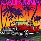Califorina dreaming  by Kimberly mattia