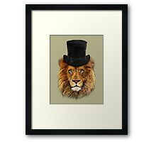 Mr Willy Fog - V01 Framed Print