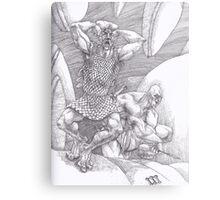 Stone Giants Metal Print