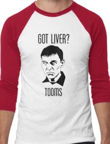 Eugene Victor Tooms Men's Baseball ¾ T-Shirt