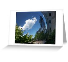 cloud gate Greeting Card