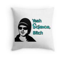 Yeah Science Bitch Throw Pillow