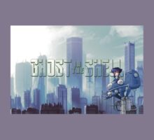 Ghost in the shell - chibi city Kids Clothes