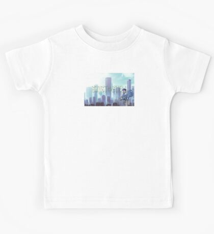 Ghost in the shell - chibi city Kids Tee