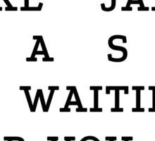 RUN - Jake Bass Sticker