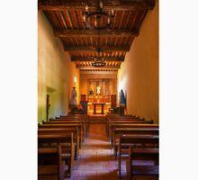 Mission San Juan Capistrano Chapel Vertical Unisex T-Shirt