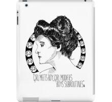 Captain Janeway as Katie O'Clare iPad Case/Skin