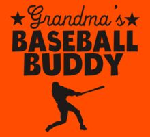 Grandma's Baseball Buddy Kids Tee
