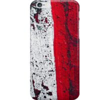 Red Shift 2 iPhone Case/Skin