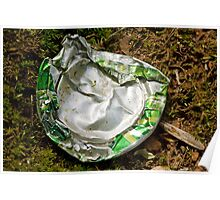 Soda Can vs. Lawn Mower Poster