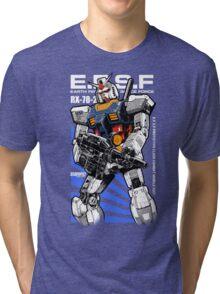 Gundam RX 78 Tri-blend T-Shirt