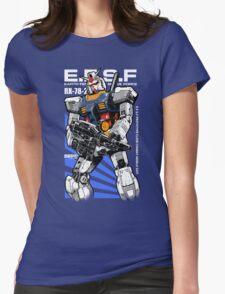 Gundam RX 78 Womens Fitted T-Shirt