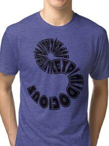Mary Poppins - supercalifragilisticexpialidocious Tri-blend T-Shirt