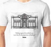 Architecture Elevation Unisex T-Shirt